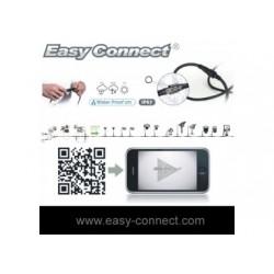 CONNECT - Prolongateur 2,5 m - (2 x  1,5mm²- H07RN-F)- Fil Noir