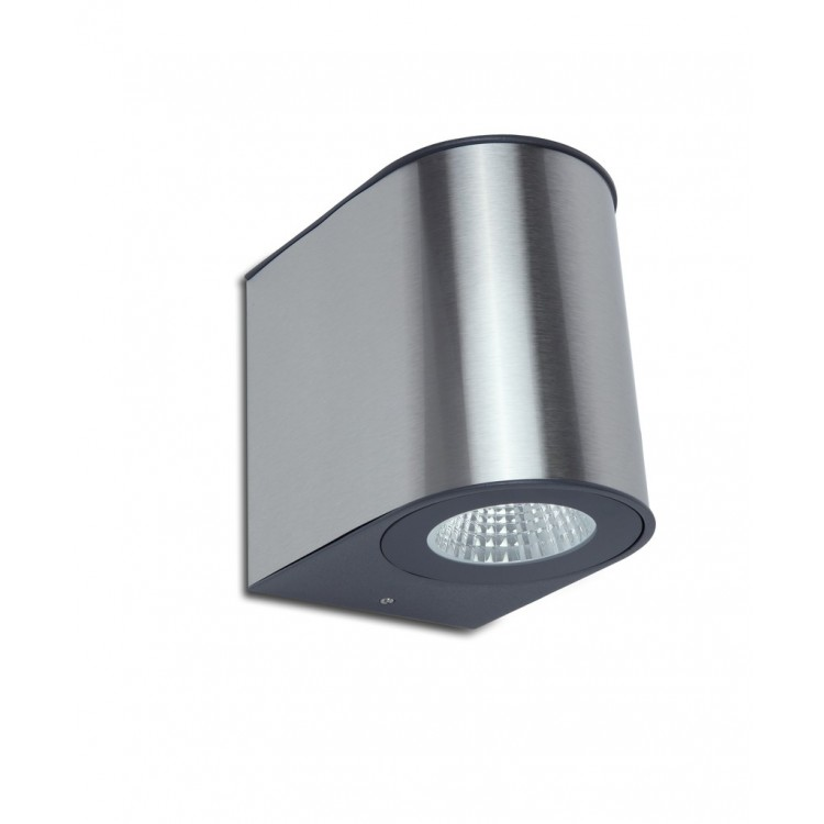 Applique Gris Foncé GEMINI, LED Intégrée, 24W, 1240 lumens, 4000K, IP54, 230V, Classe I