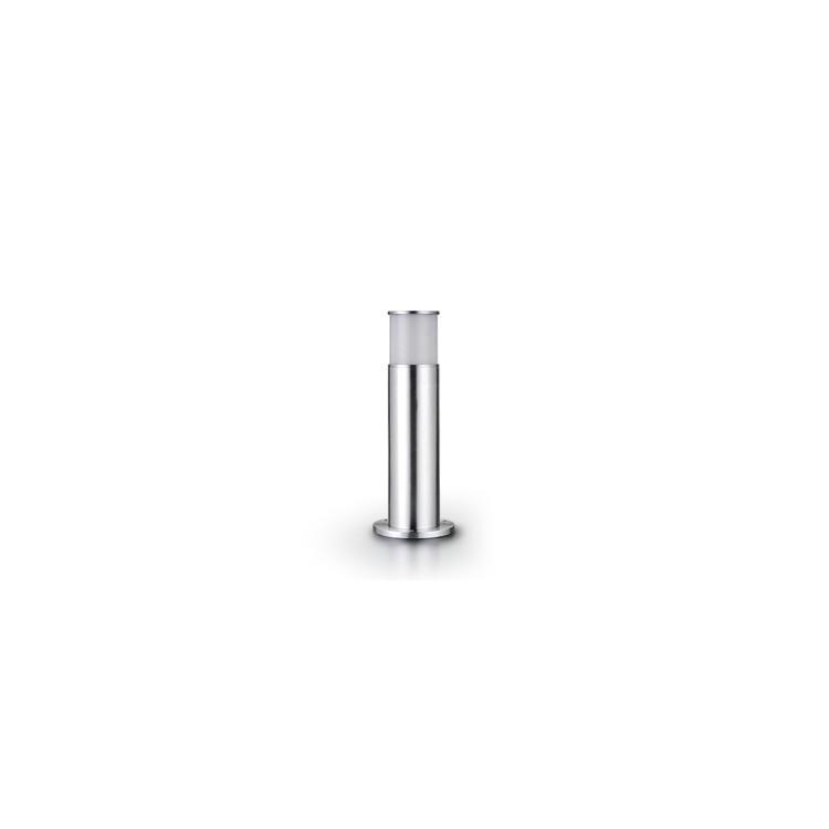 Borne Cylindrique + Piquet - INOX 304 - LED 5W - Ø 11 /H 45 cm
