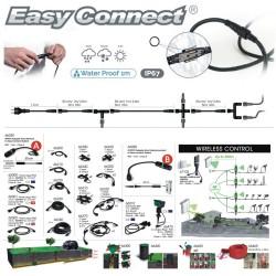 Projecteur AVANT-GARDE - Alu brossé - IP67 - MR20 - LED 4W - Warm