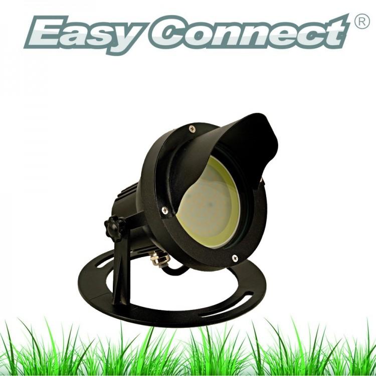 Projecteur Aluminium GM - Noir - IP67 - MR30 - LED 10W - Warm