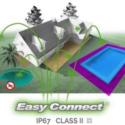 """CONNECT - Adaptateur """"Produit"""" (Entrée/mâle) IP67 - 16A - Class II"""