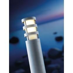 Borne Aluminium DARWIN, Ampoule E27 non fournie, Max 18W, IP44, 230V, Classe II
