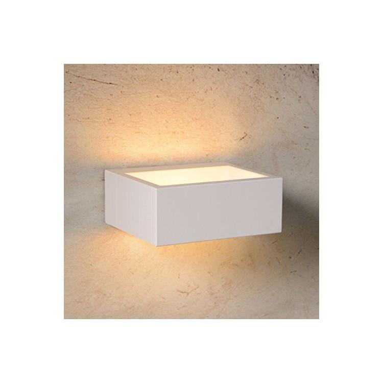 Applique Extérieure - Lucide GOA - LED - 1x6W 3000K - IP54 - BLANC