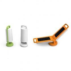 Lampe à poser Orange DRAGONFLY, LED Intégrée, 1W, 120 lumens, 4000K, IP54, SOLAIRE, Classe III