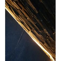 Guirlande Extérieure Solaire COBRA 3 mètres- Led Intégrée 30Lm 3000K - IP44 CLIII