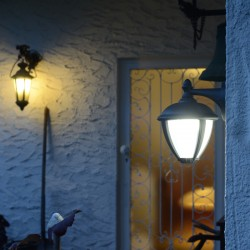 Applique Noir Matt UNITE, LED Intégrée, 9W, 330 lumens, 3000K, IP44, 230V, Classe I