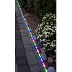 Ruban LED Extérieure Solaire BOA - Changement de Couleur - Led Intégrée 30 Lumens - IP44 CLIII